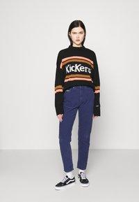 Kickers Classics - SLIM TROUSERS - Trousers - navy - 1