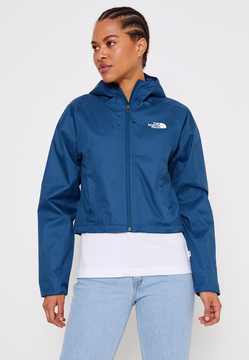 The North Face - CROPPED QUEST JACKET  - Hardshell jacket - monterey blue