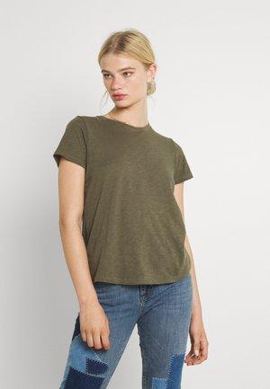 THE CREW - Basic T-shirt - dusty olive