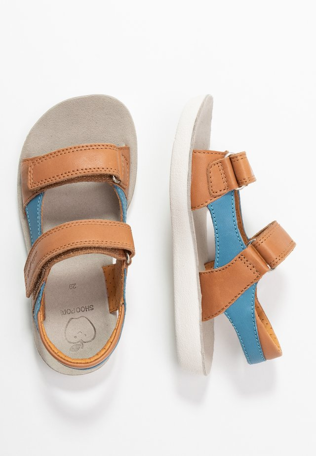 GOA BOY SCRATCH - Sandals - camel