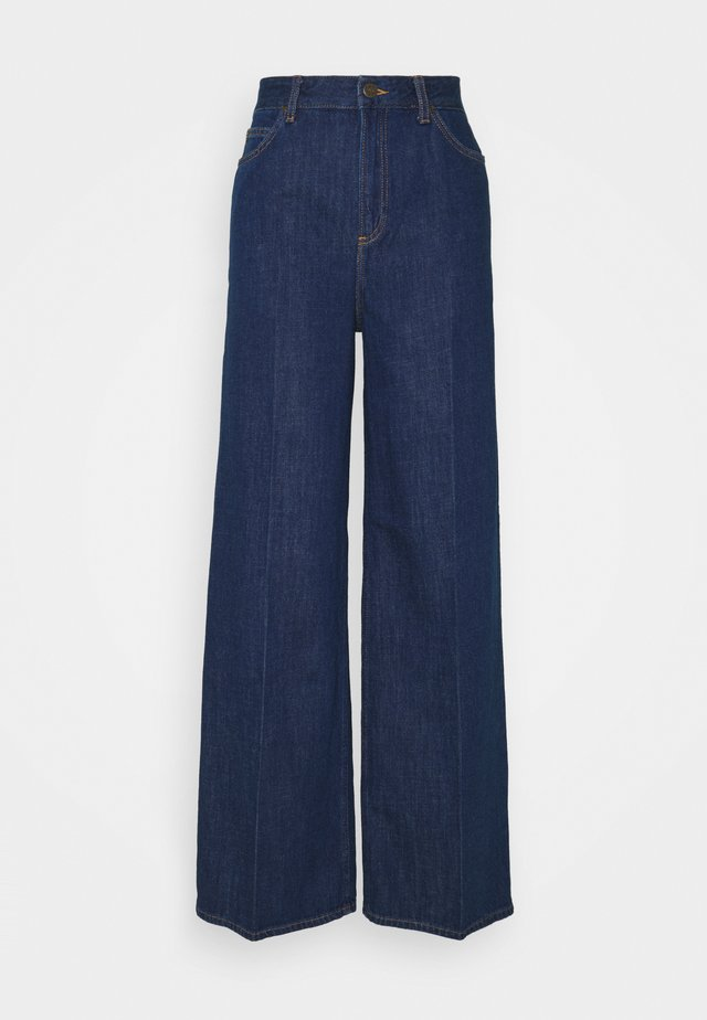 STELLA A LINE - Jeans a zampa - dark eton
