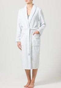 CAWÖ - CARRERA - Dressing gown - weiß/blau - 0