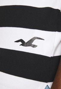 Hollister Co. - Polo shirt - black/white - 6