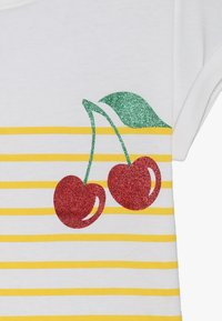 Name it - NKFJPINAPPLE - Print T-shirt - bright white/primerose yellow - 3