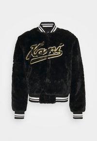 Karl Kani - VARSITY COLLEGE JACKET UNISEX - Bomber Jacket - black - 0