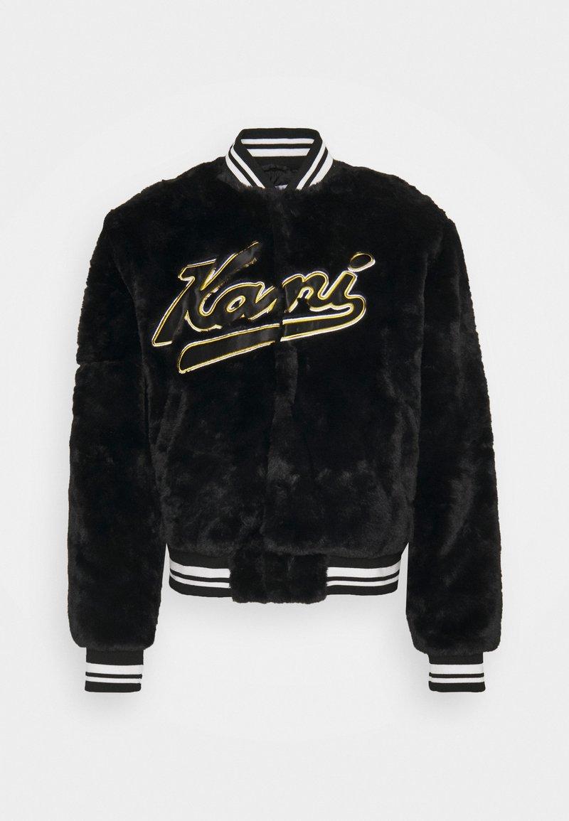 Karl Kani - VARSITY COLLEGE JACKET UNISEX - Bomber Jacket - black