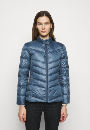 PEARL SHEEN RACER MOTO SOFT - Down jacket - slate blue