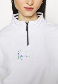 Karl Kani - SMALL SIGNATURE  - Felpa - white - 4