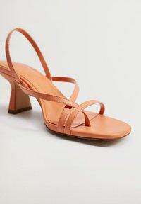 Mango - YES - Sandals - mandarine - 1