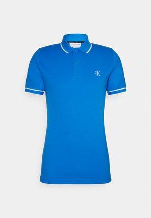 TIPPING SLIM - Polo shirt - blue