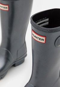 Hunter ORIGINAL - ORIGINAL KIDS UNISEX - Wellies - black - 5