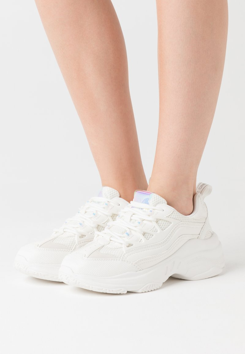 ONLY SHOES - ONLSIMBA CHUNKY - Trainers - white