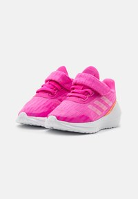 adidas Performance - EQ21 RUN UNISEX - Neutral running shoes - screaming pink/screaming orange/footwear white - 1