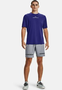 Under Armour - GRAPHIC SHORT - Sportovní kraťasy - steel - 1