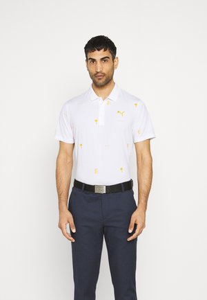 PALM TREE CREW EDITION - Polo shirt - bright white