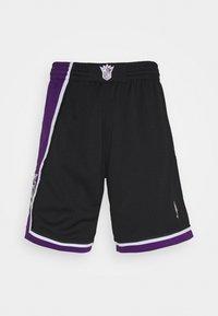 Mitchell & Ness - NBA SWINGMAN SHORTS SACRAMENTO KINGS - Sports shorts - black - 5