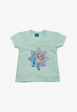 EISKÖNIGIN ANNA & ELSA - Print T-shirt - mint