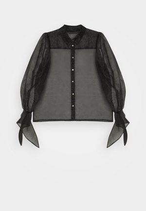 CATHERINE BLOUSE - Button-down blouse - meteorite
