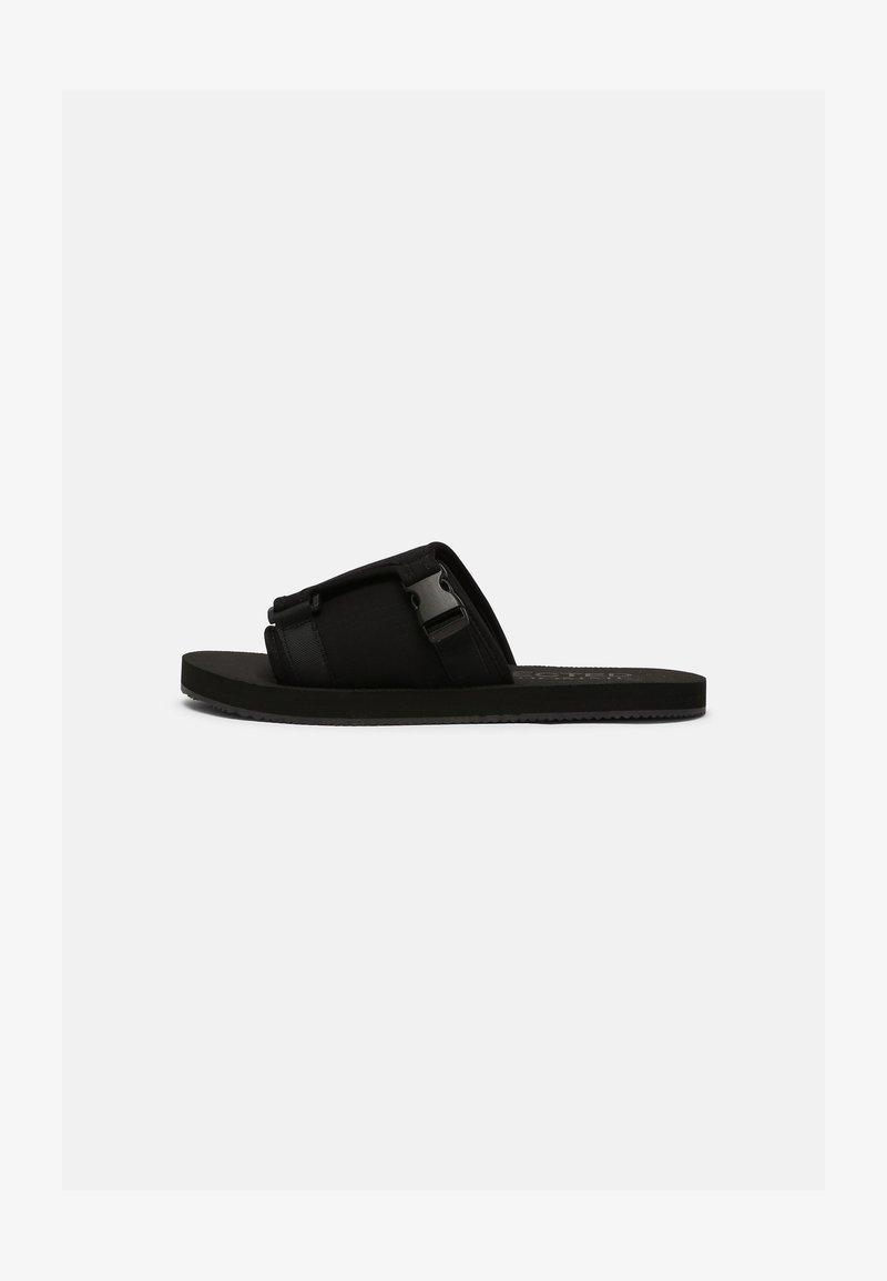 Selected Homme - SLHNOLAN SLIDER - Pantofle - black