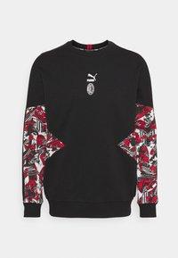 Puma - AC MAILAND CREW - Club wear - tango red/black - 0