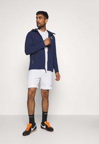 Nike Performance - PARIS ST GERMAIN HOODIE - Club wear - midnight navy/university red - 1