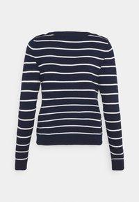Vero Moda Petite - VMALMA BOATNECK  - Jumper - navy blazer/snow white - 1