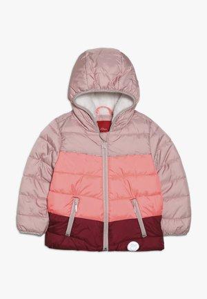 Talvitakki - dusty pink