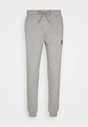 JJIGORDON  - Tracksuit bottoms - light grey melange