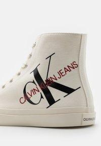 Calvin Klein Jeans - IANUS - Sneakers hoog - bright white - 5