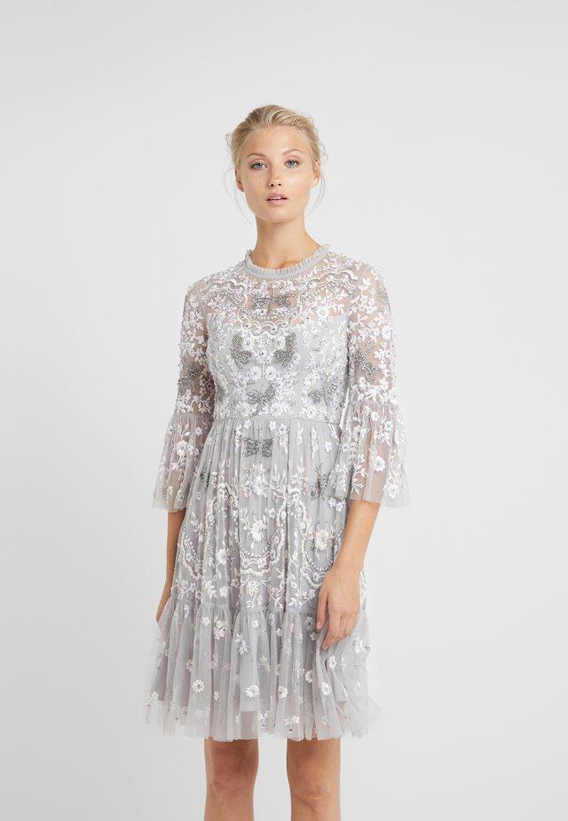 DRAGONFLY GARDEN DRESS - Sukienka koktajlowa - dusk blue