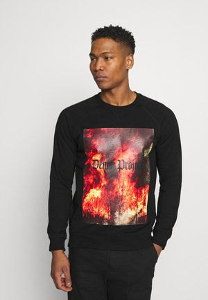 DP TREE CREW - Sweatshirt - black