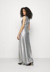 Lauren Ralph Lauren - LONG GOWN - Occasion wear - dark grey/silver - 2