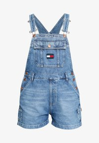 Tommy Jeans - DUNGAREE - Dungarees - blue denim - 4
