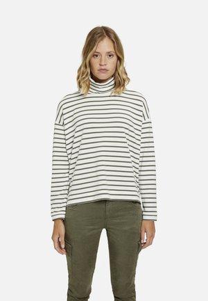 Sweater - military green print