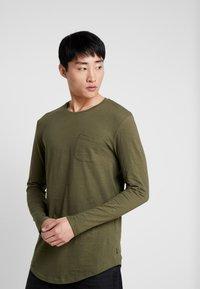 Pier One - Långärmad tröja - khaki - 0