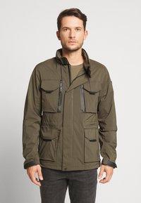 Schott - FOXTER RIPSTOP - Summer jacket - khaki - 0