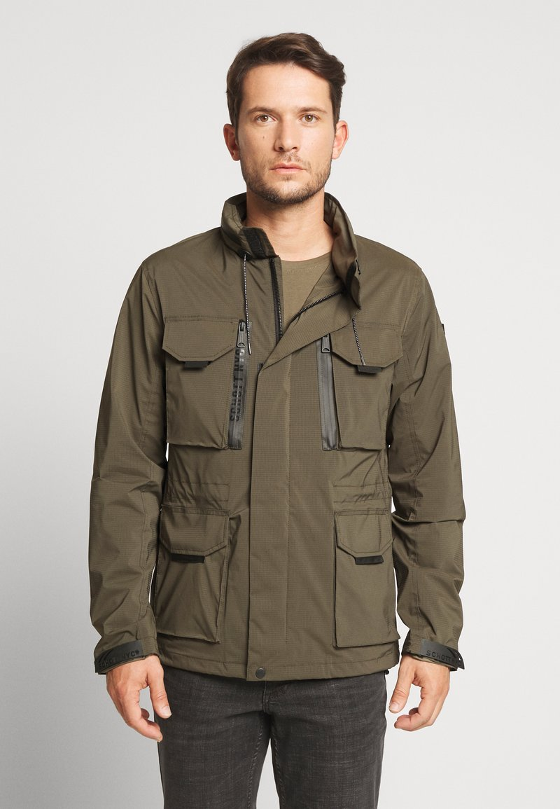 Schott - FOXTER RIPSTOP - Summer jacket - khaki