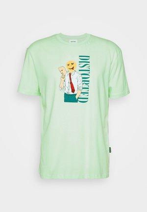 UNISEX - Print T-shirt - green