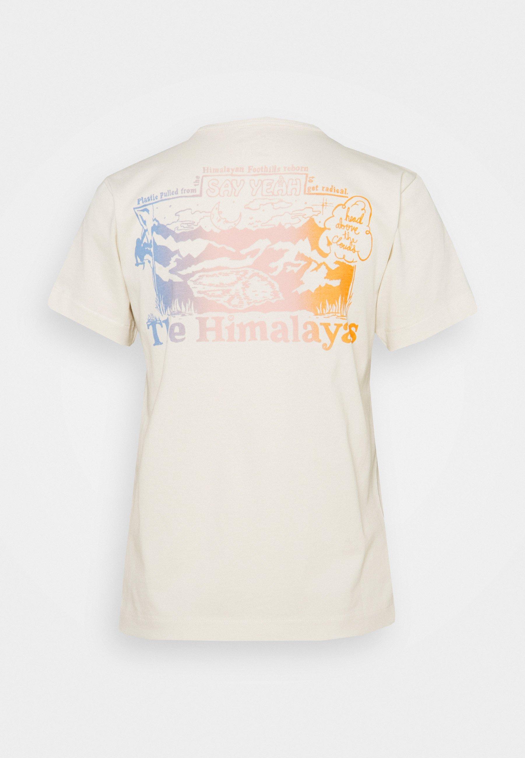 Femme HIMALAYAN BOTTLE SOURCE TEE - T-shirt imprimé