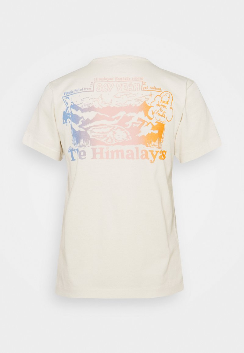 The North Face - HIMALAYAN BOTTLE SOURCE TEE - T-shirt con stampa - vintage white