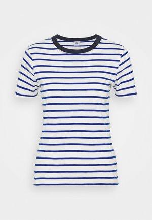 TEE - T-shirts med print - marshmallow/surf