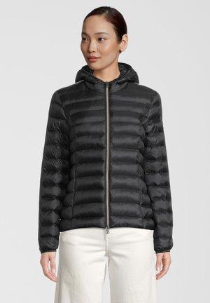 SARA - Winter jacket - black off white