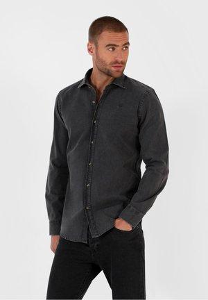 RENNES F - Shirt - grey denim