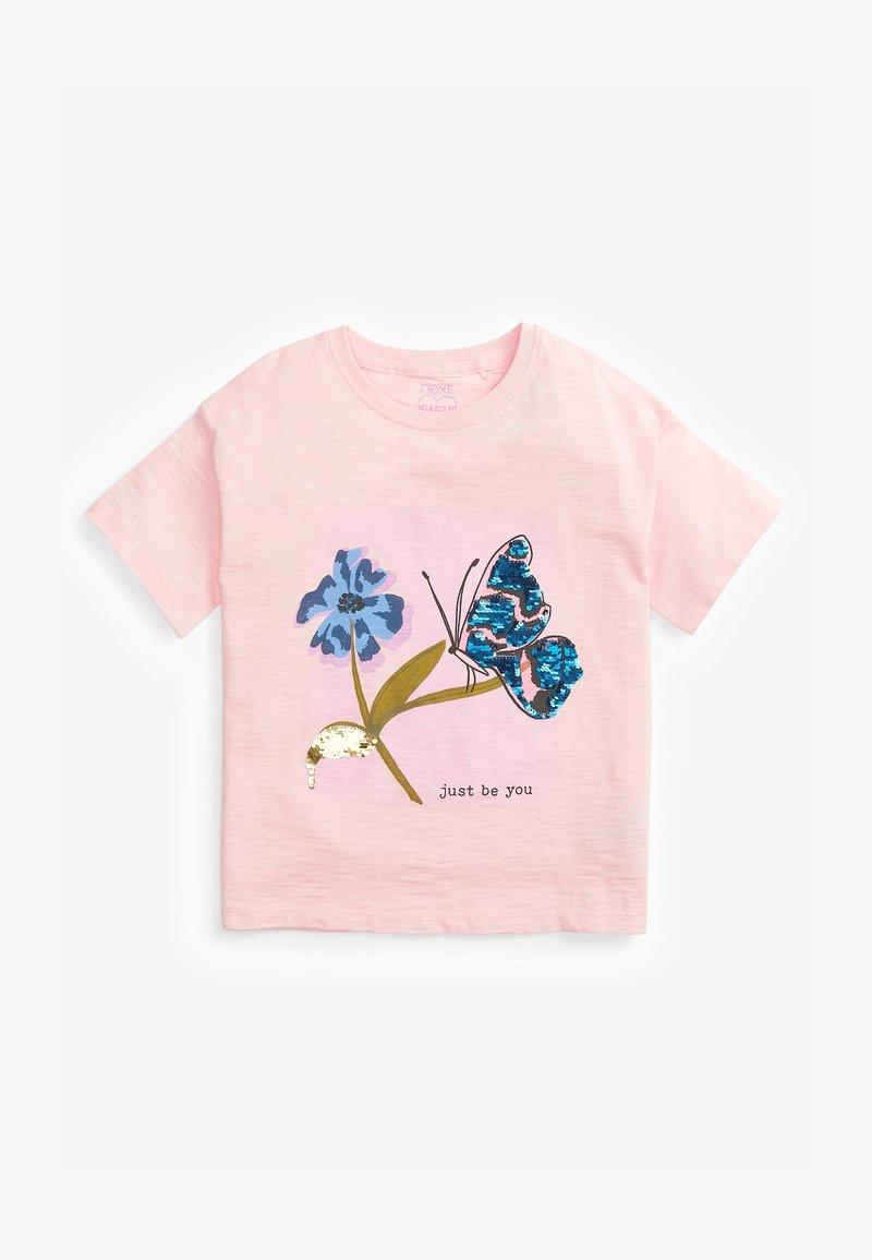 Next - BUTTERFLY  - Print T-shirt - pink