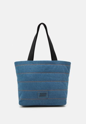FELINE - Tote bag - denim blue