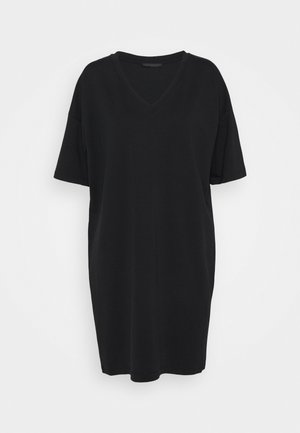 KABELLE - Jersey dress - schwarz