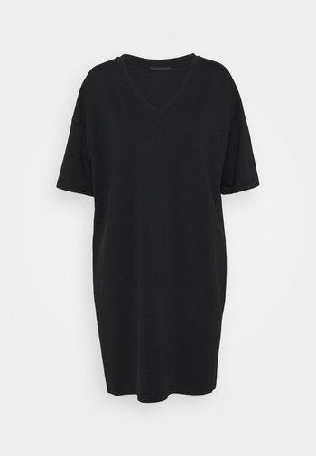 KABELLE - Jerseyklänning - schwarz