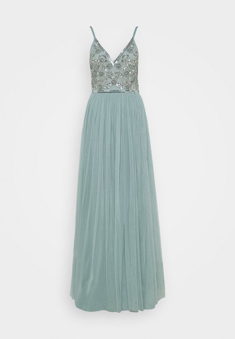 Maya Deluxe - STRAPPY EMBELLISHED MAXI DRESS - Occasion wear - pastel turquoise