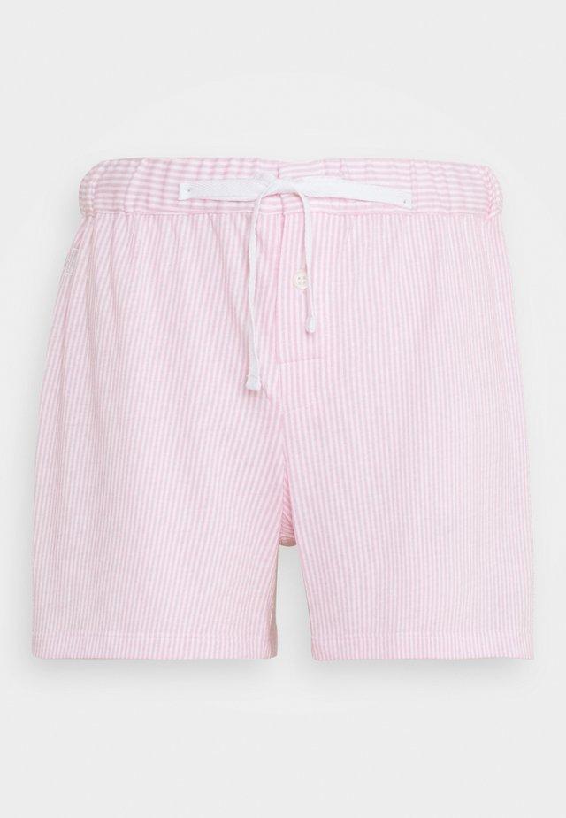 SEPARATE BOX SHORTS - Spodnie od piżamy - pink