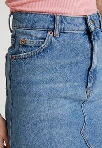 Topshop - CLEAN - Jeansrok - blue denim - 3